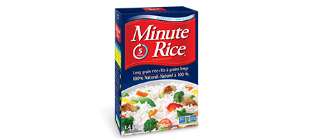 Minute Rice® Premium Long Grain White Rice