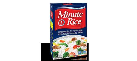 Riz blanc à grains longs de qualité supérieure Minute Rice®
