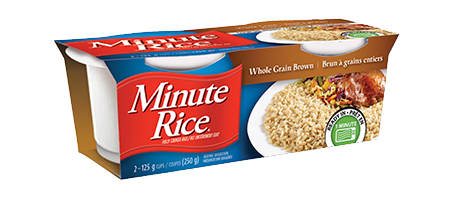 Minute Rice® Ready to Serve cups Whole Grain Brown Rice