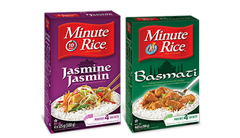 Minute Rice® Jasmine and Basmati Rice