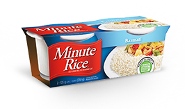 Minute Rice® Ready to Serve Cups