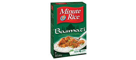Riz basmati Minute Rice<sup>®</sup>