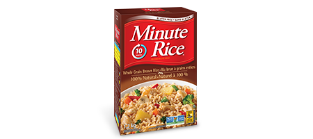 Minute Rice® Premium Whole Grain Brown Rice