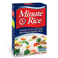 Minute Rice® Premium Instant Long Grain White Rice