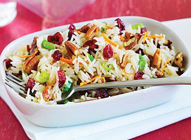 Cranberry Pecan Basmati Rice