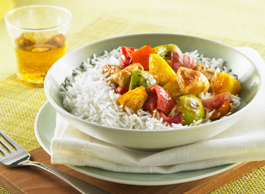 Sweet Pineapple Curry Chicken