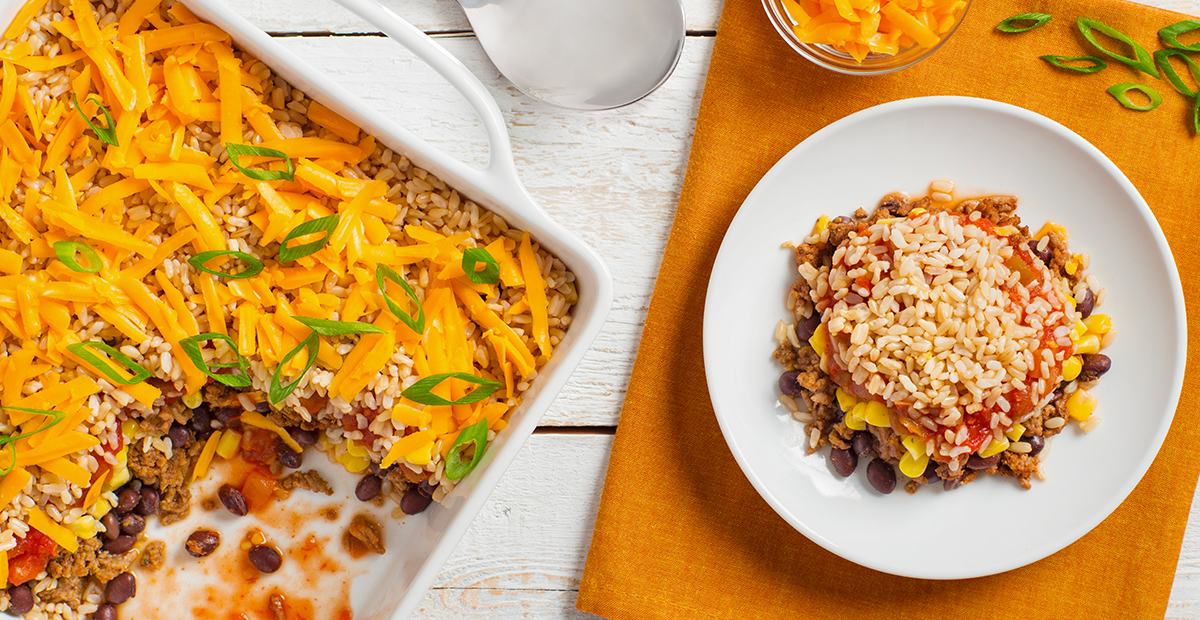 ... saffron rice bake spanish rice bake with brown rice recipes dishmaps