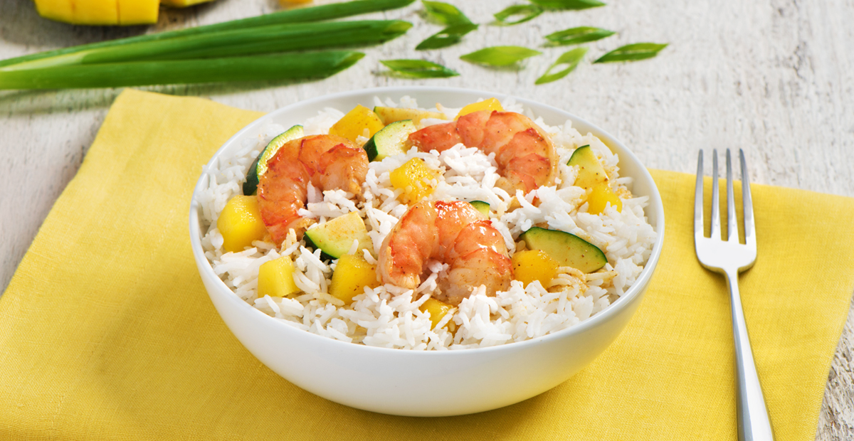Shrimp Curry with Mango