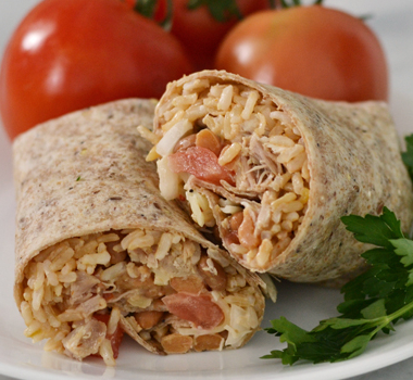 healthy-chicken-burritos