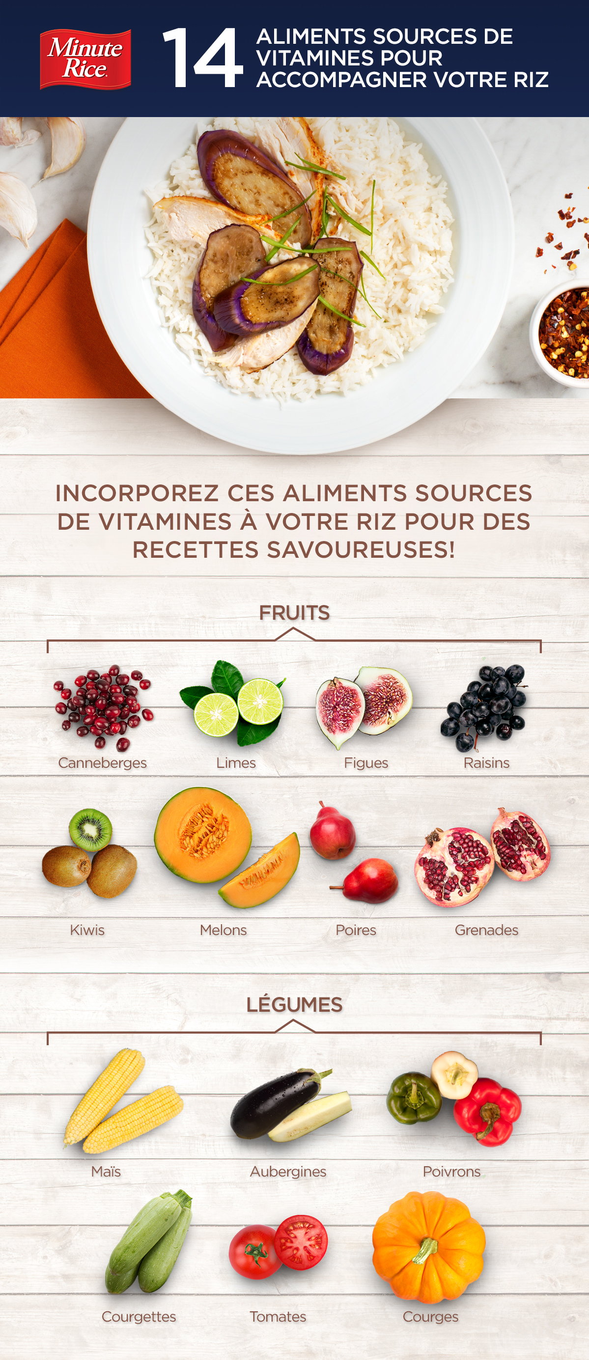 14 aliments sources de vitamines