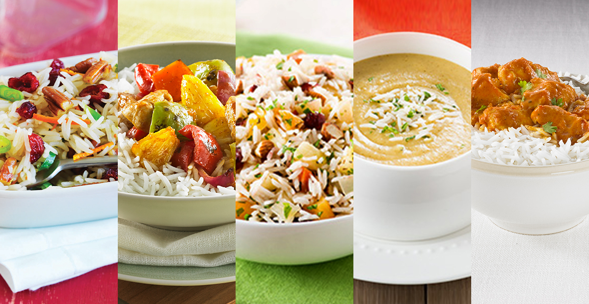 5 recettes savoureuses de riz basmati minute rice. Black Bedroom Furniture Sets. Home Design Ideas